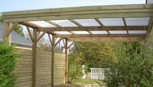 carport bois